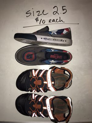 Boys SHOES! Size 2.5 for Sale in Issaquah, WA