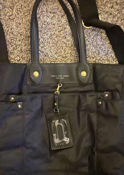 Marc Jacob Nylon Black Bag Perfect Condition Retail $348.00 for Sale in Worcester,  MA