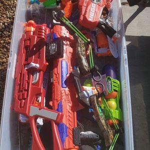 Nerf Guns Take All 40.00 for Sale in Glendale, AZ