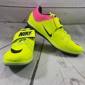 Nike Shoes Size 9.5 Zoom HJ Field High Jump Elite 806561-999 No Spikes New Without Box NWOB Needs Spikes Marks Shown In Pictures for Sale in Los Angeles, CA