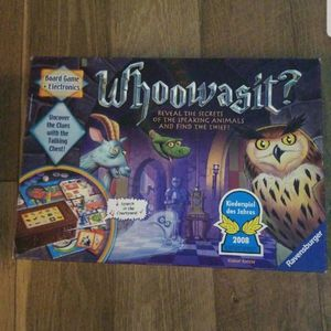 Whoowasit Board Game for Sale in Norristown, PA