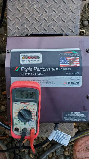 Eagle Performance Series 48 volt Golf Cart Charger **see area in ad ** for Sale in Bakersfield, CA