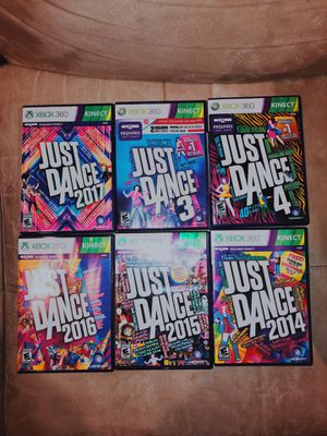 XBOX 360 KINECT - JUST DANCE GAMES for Sale in Annandale, VA