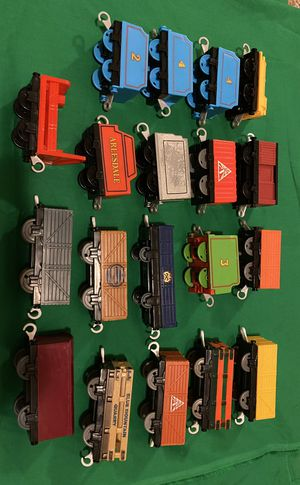 Thomas and Friends Trackmaster Carts for Sale in Round Rock, TX