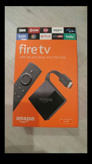 FIRE TV 4K UHD HDR W/ ALEXA NEW for Sale in Irvine, CA