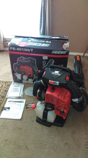 💨 ECHO PB8010 BACKPACK BLOWER, STRONGER THAN STIHL BR800 lawn mower hedge trimmer weedeater weed eater husqvarna scag zero turn for Sale in Cedar Hill, TX