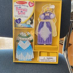 Melissa and Doug NEW Magnetic Princess Elise Dress Up for Sale in Ayer,  MA