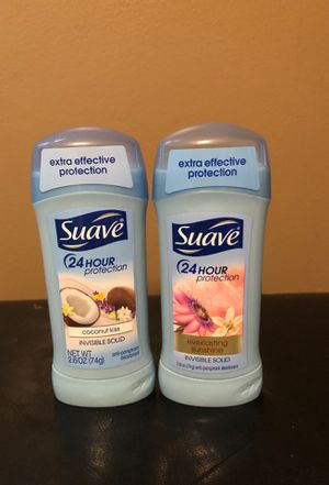 2 Suave deodorant for Sale in Hamburg, NY