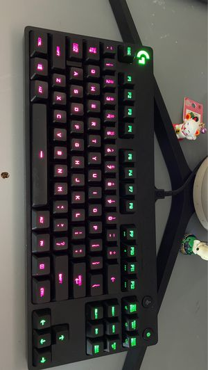 Logitech pro rgb gaming key board for Sale in Tacoma, WA