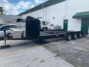 Track support transport car trailer hauler for Sale in Boca Raton, FL