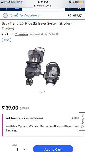 Stroller car seat for Sale in Fresno, CA