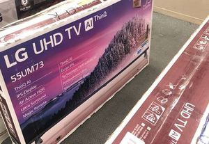 LG uhd tv 55 inch WI036 for Sale in Fort Worth, TX