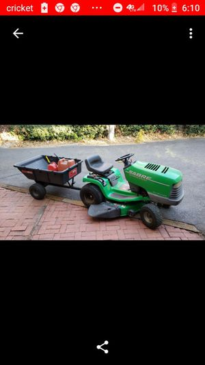 John Deere tractor and trailer for Sale in Ceres, CA