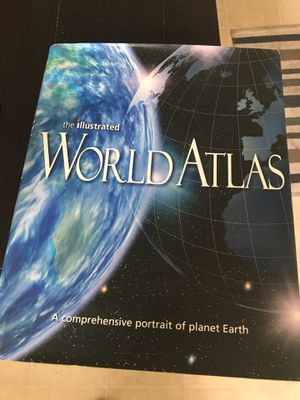 World atlas book for Sale in Yalesville, CT