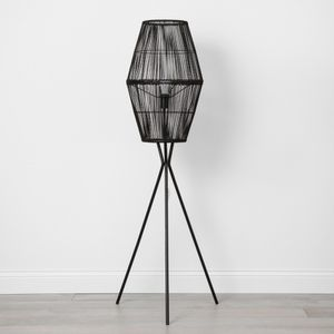 Rattan Diamond Tripod Floor Lamp Black - Opalhouse™ for Sale in Dover, PA