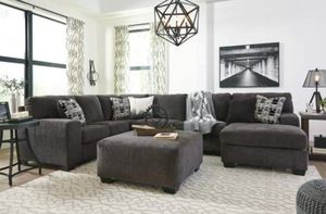 $999 FREE DELIVERY! BRAND NEW GREY SECTIONAL SOFA for Sale in Oviedo, FL