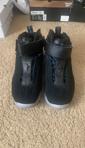 Nike Air Penny 4 black/royal magic suede for Sale in Saint Johns, FL