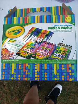 Crayola crayon melt kit for Sale in Meriden, CT