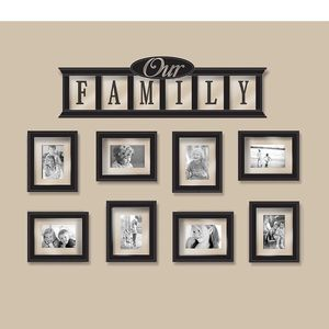 Our Family Frame - 9pc Set New!! for Sale in La Mirada, CA