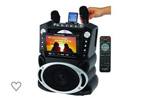 Karaoke USA Karaoke System with 7-Inch TFT Color Screen and Record Function (GF829) Dvd/Mp3/Video player for Sale in Los Angeles, CA