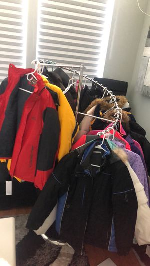 Snow jackets coats bibs snow pants boots for Sale in Saint Johns, FL