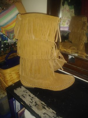 New Lauren Conrad Fringe Boots SZ 8 for Sale in OH, US