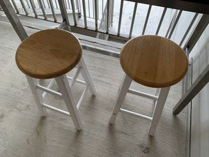 Winsome beveled seat stools, table not included for Sale in Salt Lake City, UT