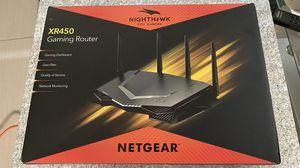 Netgear nighthawk XR450 gaming router for Sale in Houston, TX