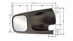 CIPA Brand Set of Dodge Towing Mirrors for towing Camper, 5th Wheel, Trailer, Horse Trailer for Sale in Houston, TX
