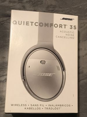 BOSE QUIETCOMFORT 35 WIRELESS NOICE CANCELLING HEADPHONES for Sale in McLean, VA
