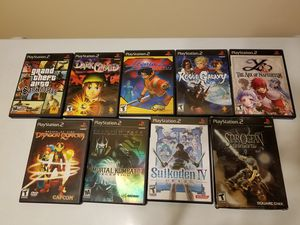 PS2 video games (lot of 9) for Sale in Anaheim, CA