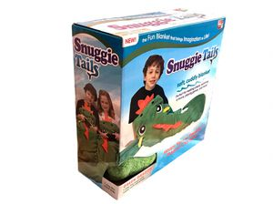 "Snuggie Tails Fiery Green Dragon Soft, Cuddly Blanket ""AS SEEN ON TV"" for Sale in El Monte, CA"