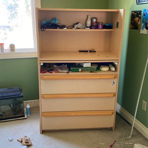 Bookshelf With Drawers, Writing Desk for Sale in Laguna Niguel, CA