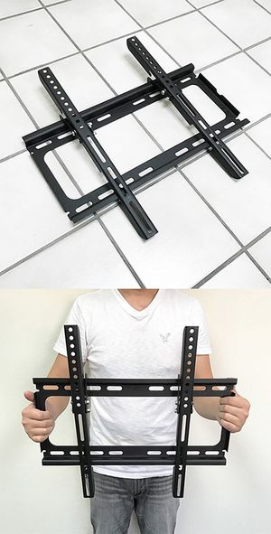 "(New in box) $12 Tilt 23""-50"" TV Wall Mount Bracket Ultra Slim Design 15degree Down, Max load 100Lbs for Sale in Whittier, CA"