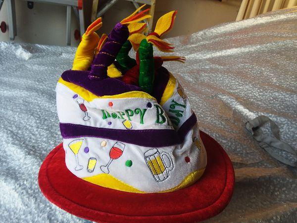 Happy birthday 🎂 cake hat