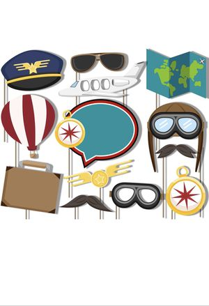 Airplane Photobooth Props for Sale in Miami, FL
