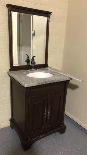 Sink with mirror for Sale in Glendale, AZ