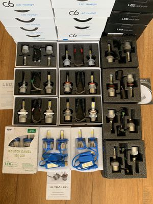 Car LED Headlights Bulb Kit Low Beam Fog light Set Super White 72W 16000LM 6500K With Quality Assurance for Sale in Baldwin Park, CA