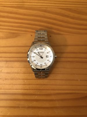 Fossil watch silver - original case for Sale in Columbia, MO