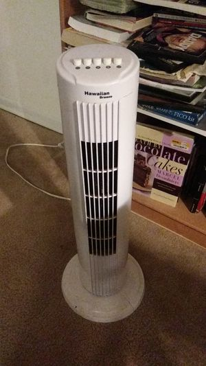 Hawaiian Breeze tower fan for Sale in East Point, GA