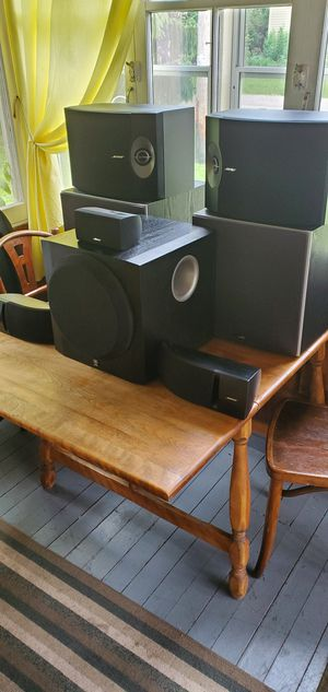 Bose surround sound speakers for Sale in Kansasville, WI