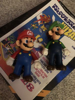 Super Mario bro's Nintendo collectible figurine lot 2012 characters for Sale in Cresskill, NJ