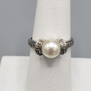 14k White Gold Pearl Ring for Sale in Joliet, IL