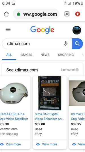 DIMAX VIDEO ENHANCER for Sale in Lathrop, CA
