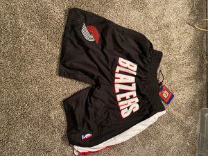 black Portland trailblazers shorts (Damian Lillard) for Sale in Rancho Cucamonga, CA