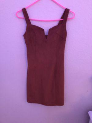 Forever 21 orange velvety dress for Sale in Brentwood, CA