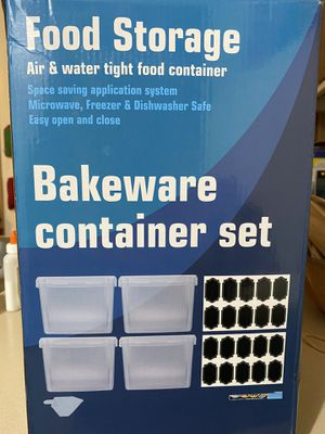 BRAND NEW STORAGE/FOOD CONTAINER SET for Sale in Bothell, WA
