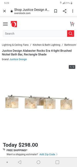 Bathroom light fixture for Sale in Salt Lake City, UT
