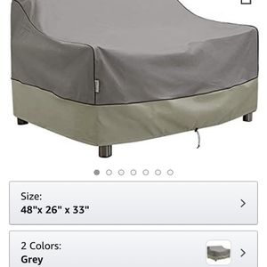 KylinLucky Outdoor Furniture Covers Waterproof, Patio Loveseat Cover Fits up to 48W x 26D x 33H inches for Sale in San Antonio, TX