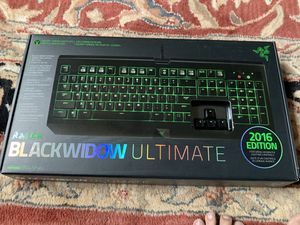 Razer black widow ultimate keyboard 2016 edition for Sale in East Amherst, NY